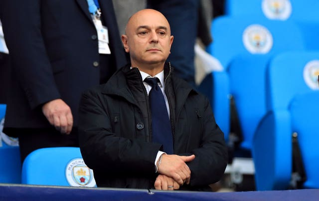 Tottenham chairman Daniel Levy insists the club's finances are under major pressure
