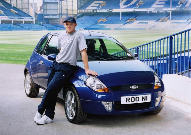 Wayne Rooney – Ford Sportka Car – Goodison Park, Liverpool