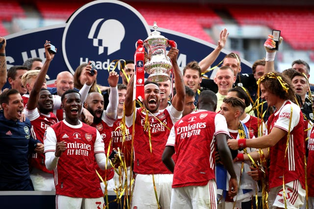 Arsenal won the FA Cup last season