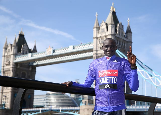 London Marathon Elite Men's Photocall - Tower Hotel