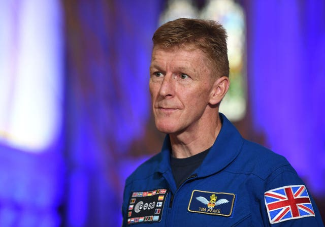 Tim Peake on The One Show