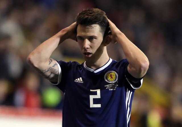 Ryan Jack has two Scotland caps