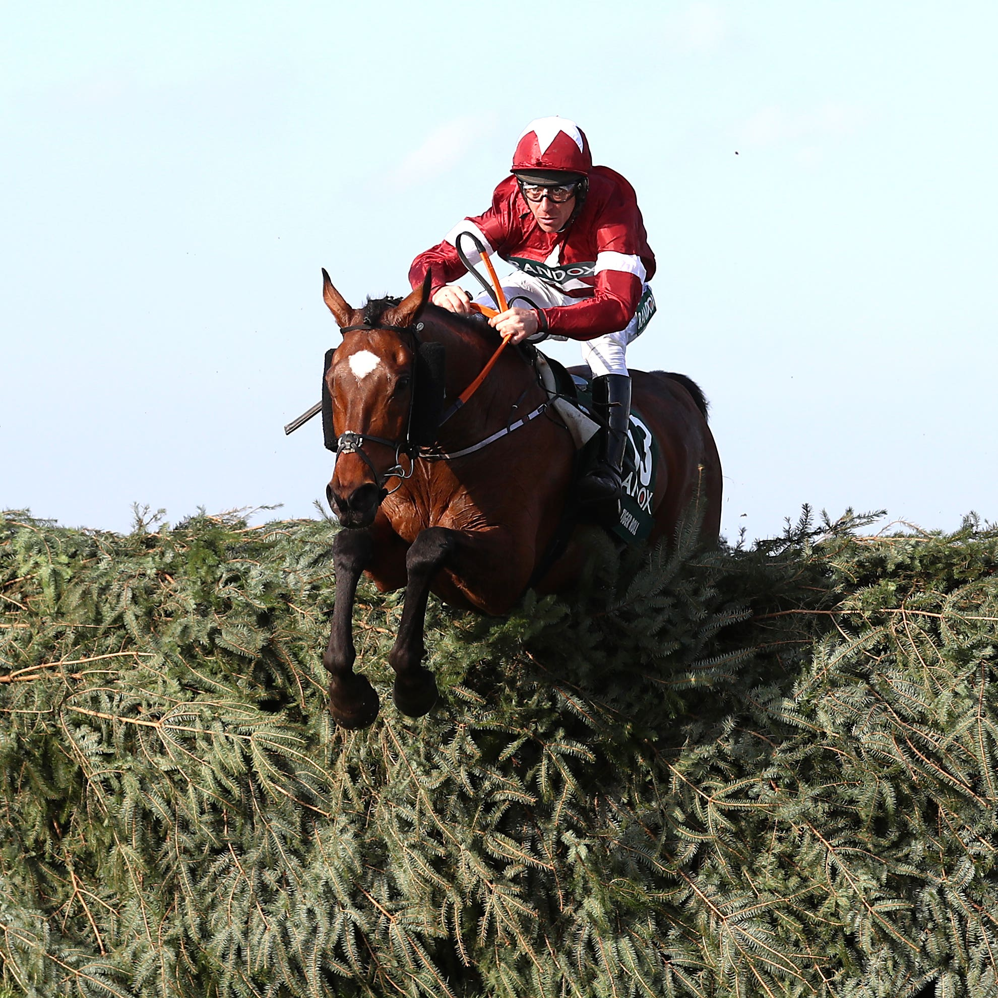 Tiger Roll on his way to National glory under Davy Russell