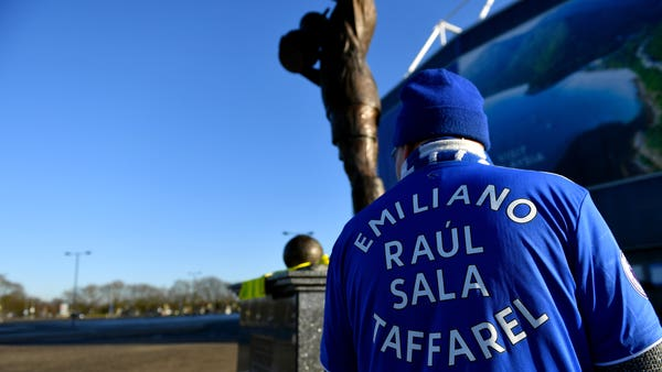Tributes paid to Emiliano Sala on anniversary of striker's death