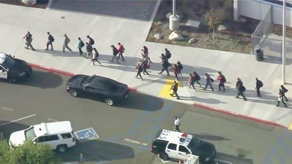 Five injured in California high school shooting