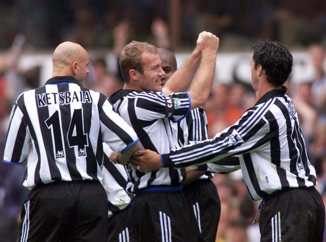 SOCCER Newcastle/Shearer 2