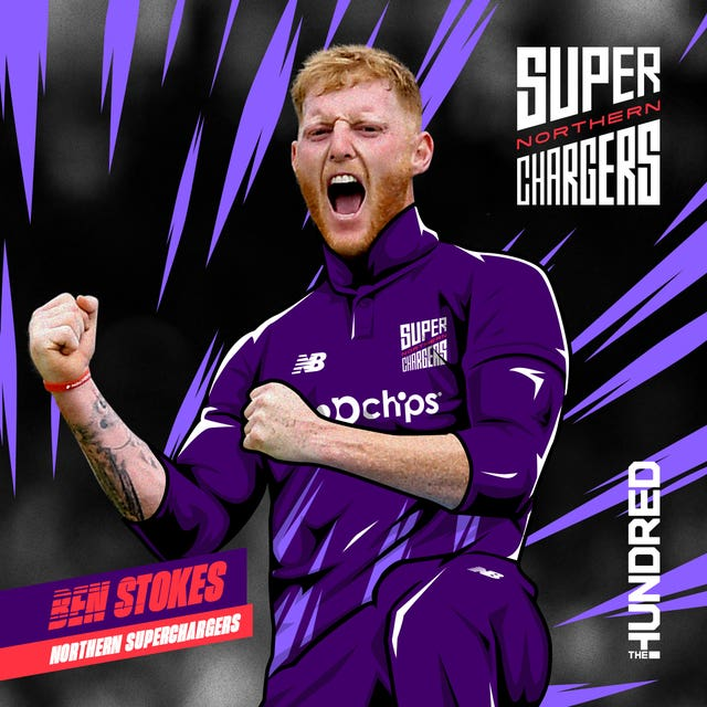 Ben Stokes is the Northern Superchargers' centrally-contracted player
