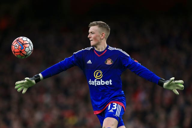 Jordan Pickford made his Sunderland debut in FA Cup third round match at Arsenal
