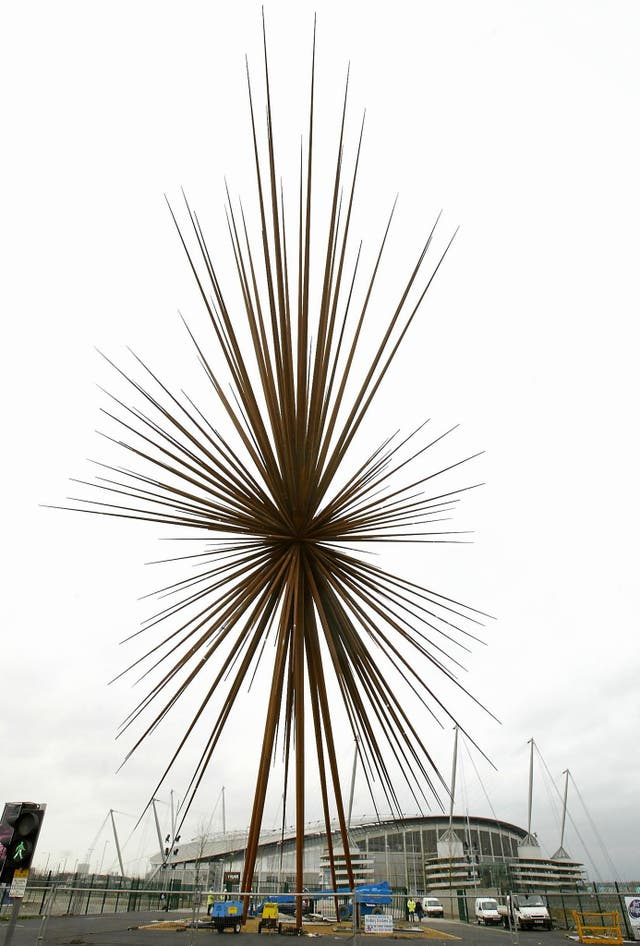The B of the Bang Sculpture – City of Manchester Stadium