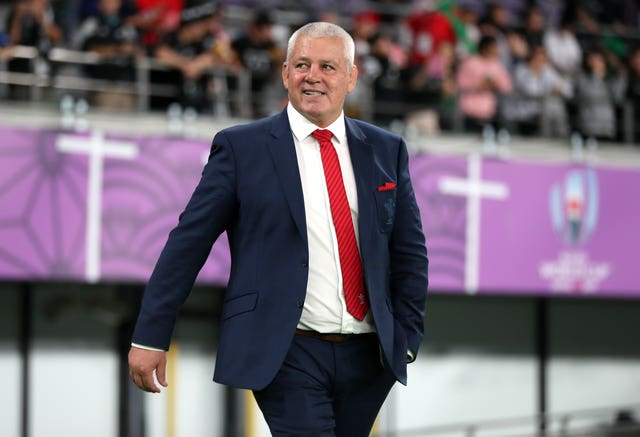Lions coach Warren Gatland will draw heavily from England's squad next year