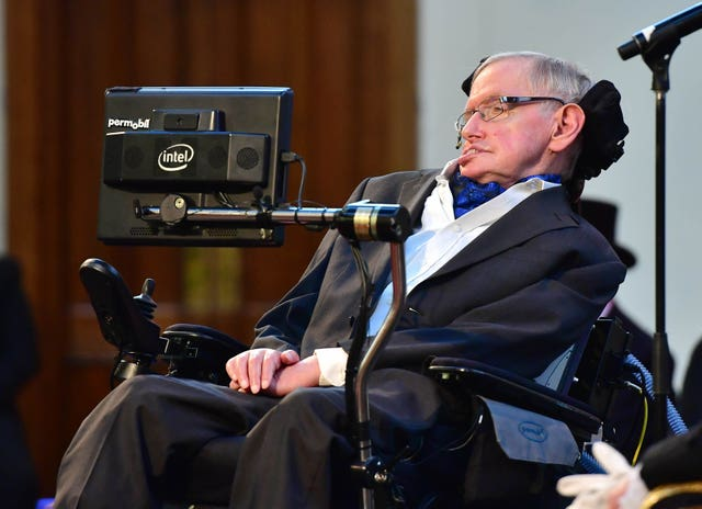 Professor Stephen Hawking receives Honorary Freedom of the City of London