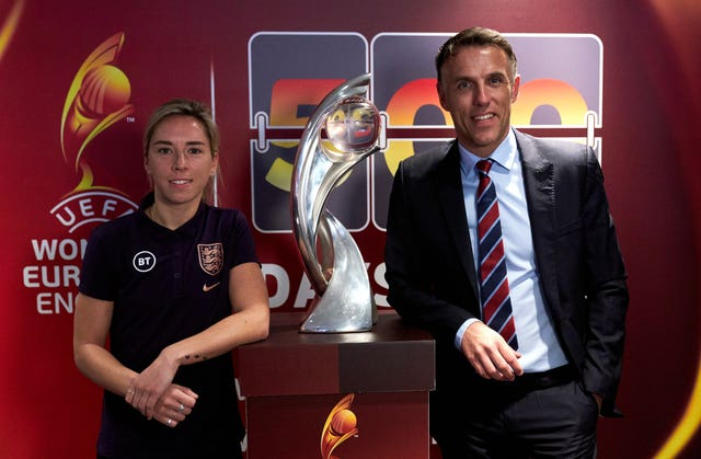 England head coach Phil Neville is building the squad towards success at Euro 2021 on home soil