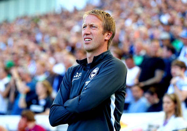 Graham Potter is now in charge of Brighton, having left Ostersunds for Swansea