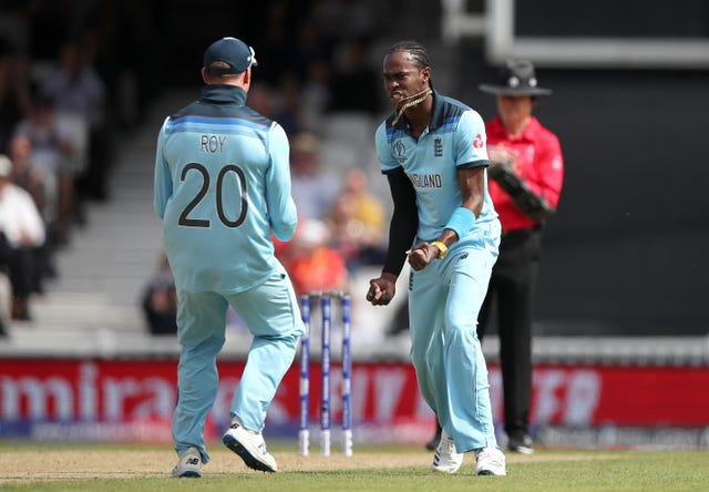 Archer, right, will face the West Indies for the first time since becoming eligible for England in March