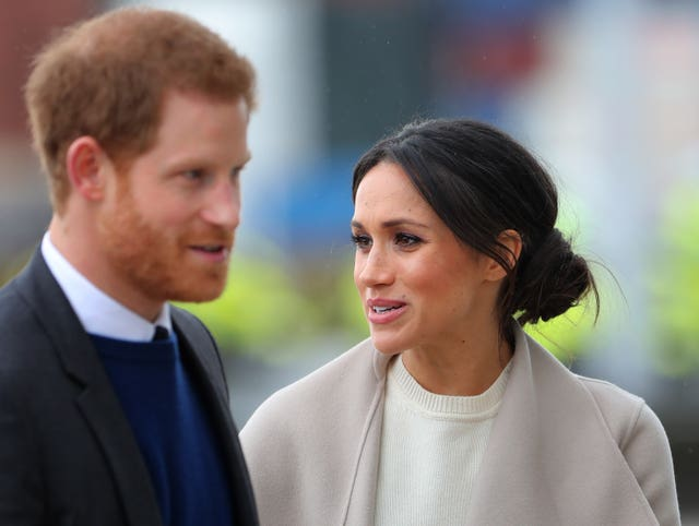 Harry and Ms Markle will get married in May (Gareth Fuller/PA)