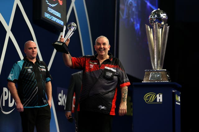 Phil Taylor reached the World Championship final in his final professional match