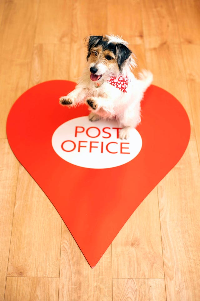 Pop-up post office in Lover