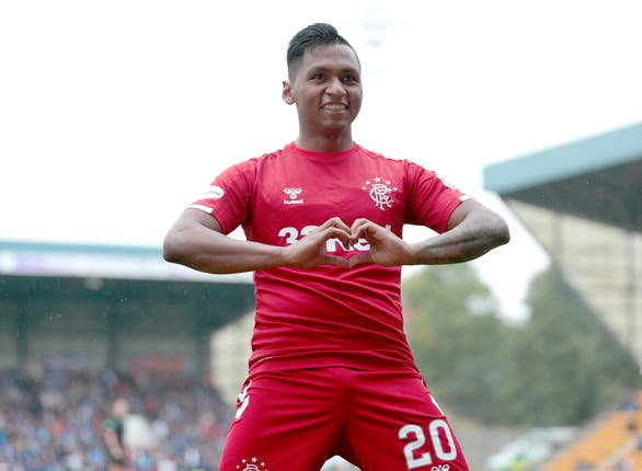 Alfredo Morelos is 'in a happy place'