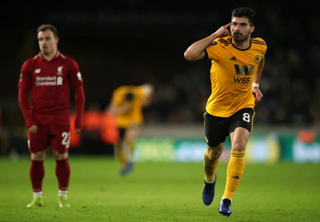 Liverpool were dumped out of the FA Cup by Wolves