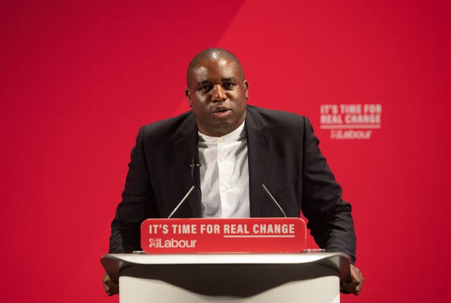 MP David Lammy