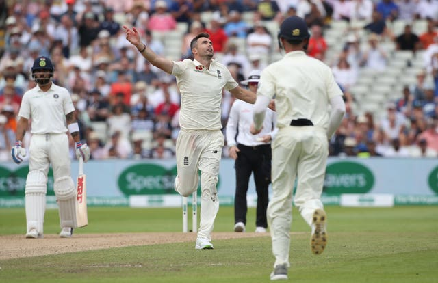 Anderson has enjoyed sustained success since going past 300 Test wickets (Nick Potts/PA)