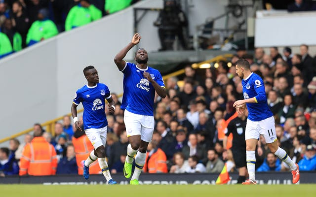 Lukaku's only goal against Tottenham came during his time at Everton.