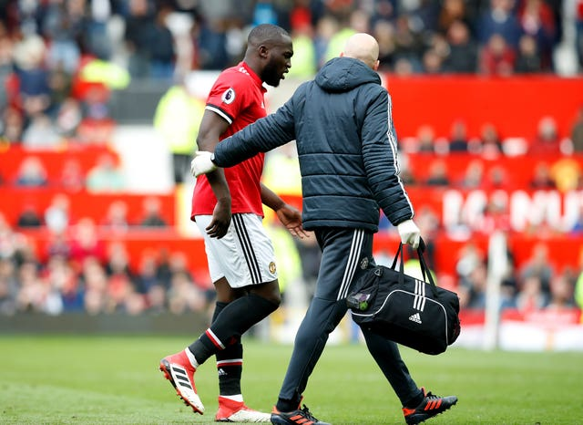 Jose Mourinho will be hoping Romelu Lukaku passes a fitness test for the FA Cup final
