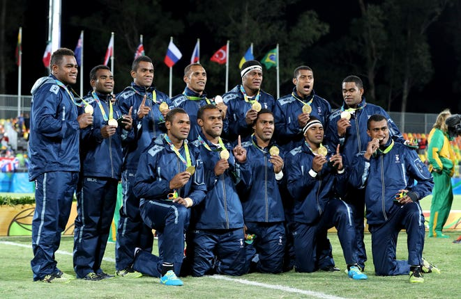 Three members of Fiji's Olympic gold-winning Sevens side are in the starting XV