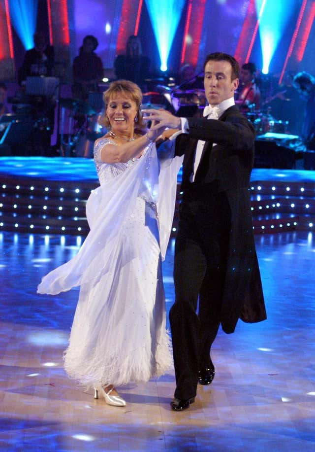 Esther Rantzen and Anton Du Beke