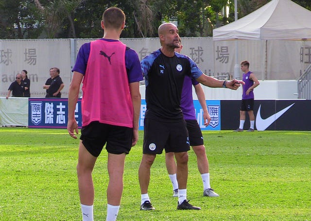Manchester City Training Session – Mongkok Stadium