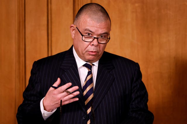 England's deputy chief medical officer Jonathan Van-Tam