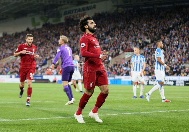 Huddersfield Town v Liverpool – Premier League – John Smith's Stadium