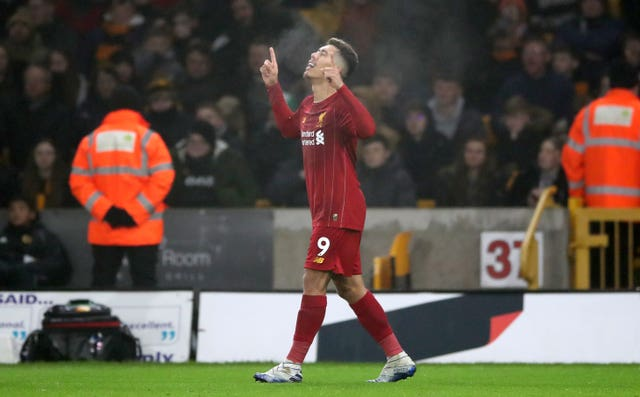 Roberto Firmino sealed Liverpool's victory with the late winner against Wolves