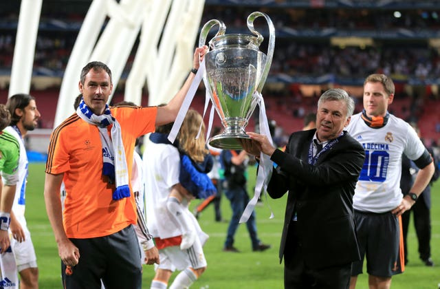 Real Madrid won their 10th Champions League trophy under Ancelotti in 2014