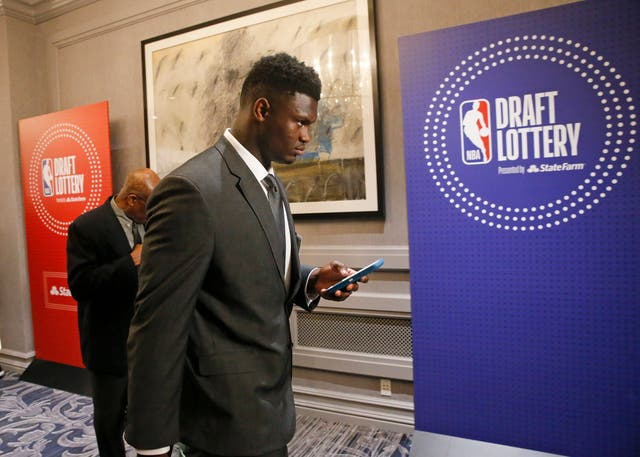 NBA Draft Lottery Basketball