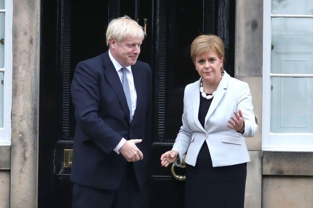 Boris Johnson renews attacks on Scottish separatists ahead of visit to Aberdeenshire