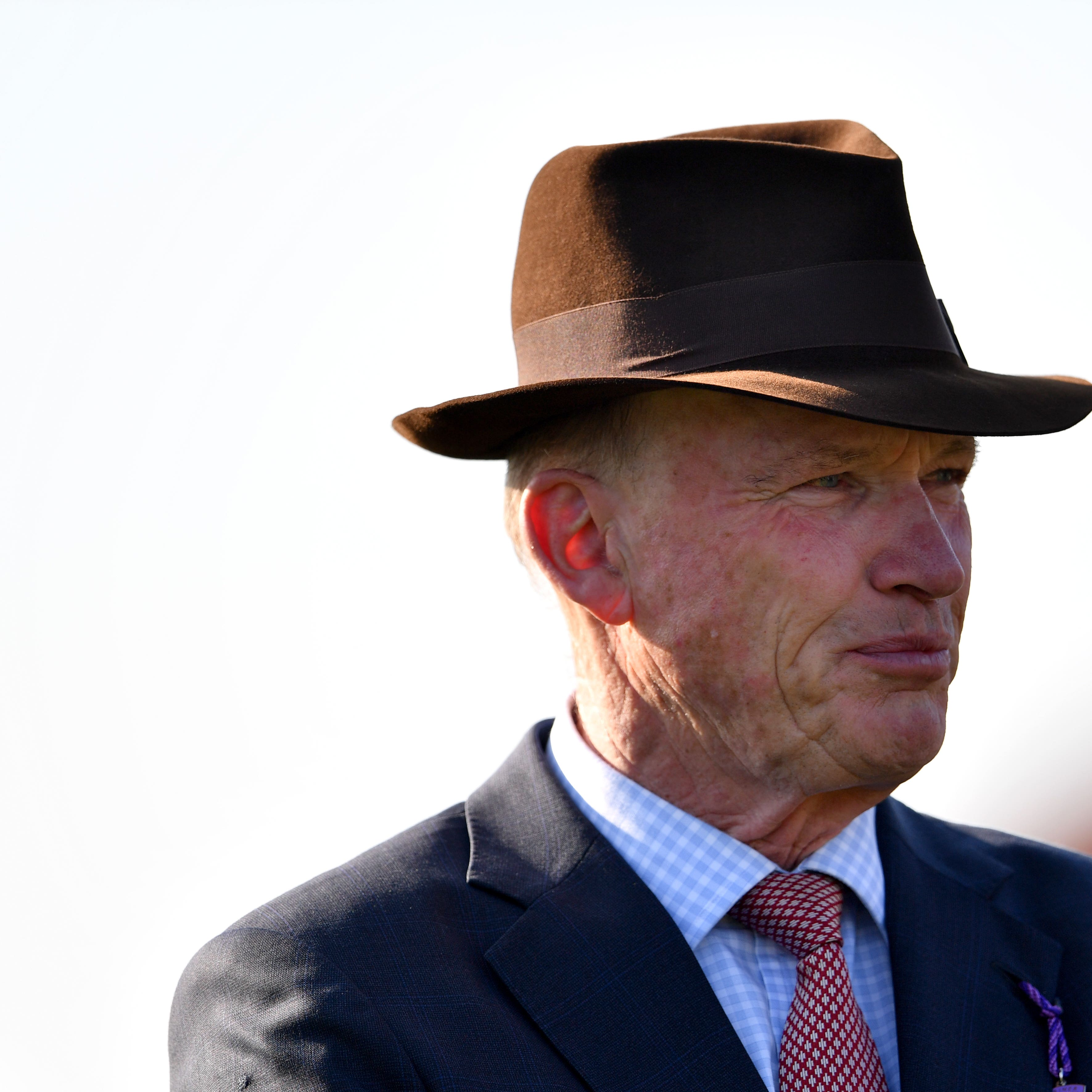 John Gosden insists Without Parole is still learning the game (Joe Giddens/PA)