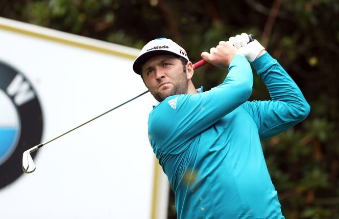 Jon Rahm finished three strokes behind Danny Willett
