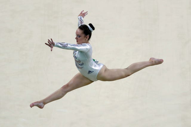 Amy Tinkler file photo