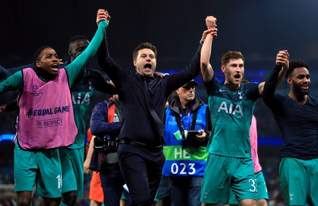 Mauricio Pochettino's side reached the Champions League semi-finals in midweek (Mike Egerton/PA)