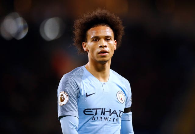 Manchester City's Leroy Sane looks likely to leave at the end of the season
