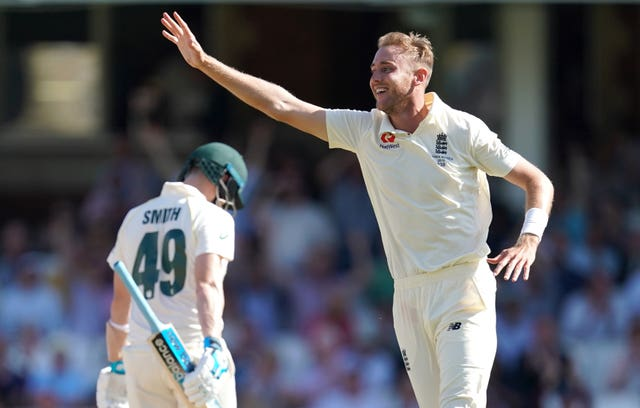 Stuart Broad took four second-innings wickets