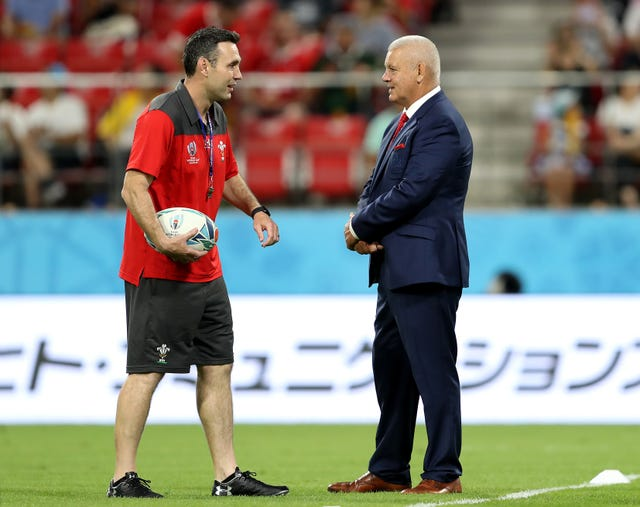 Wales attack coach Stephen Jones