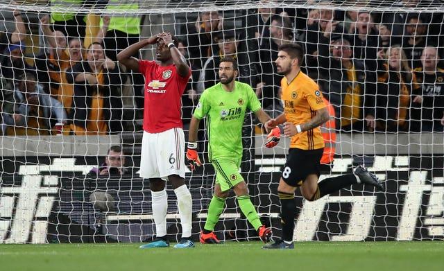 Wolverhampton Wanderers v Manchester United – Premier League – Molineux