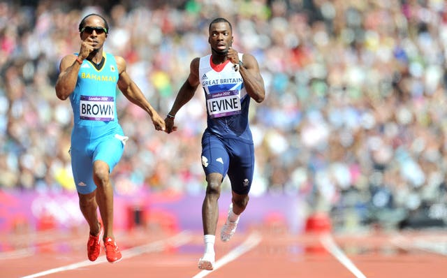 Levine (right) competed for Great Britain at the London 2012 Olympics (Martin Rickett/PA).