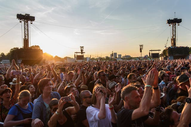 British Summer Time Festival crowd
