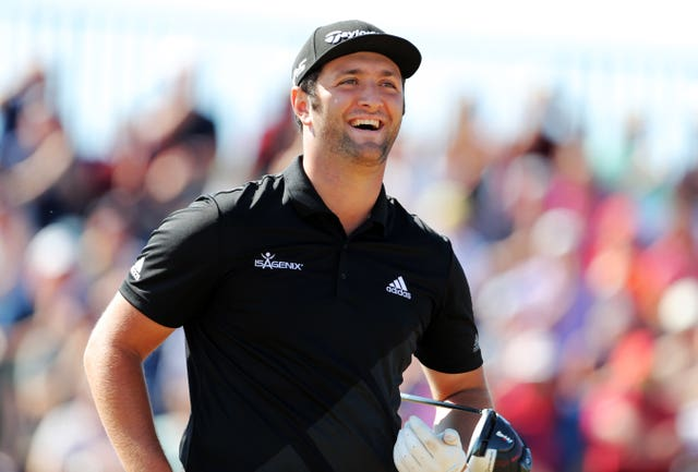 World number five Jon Rahm is Europe's highest-ranked rookie.