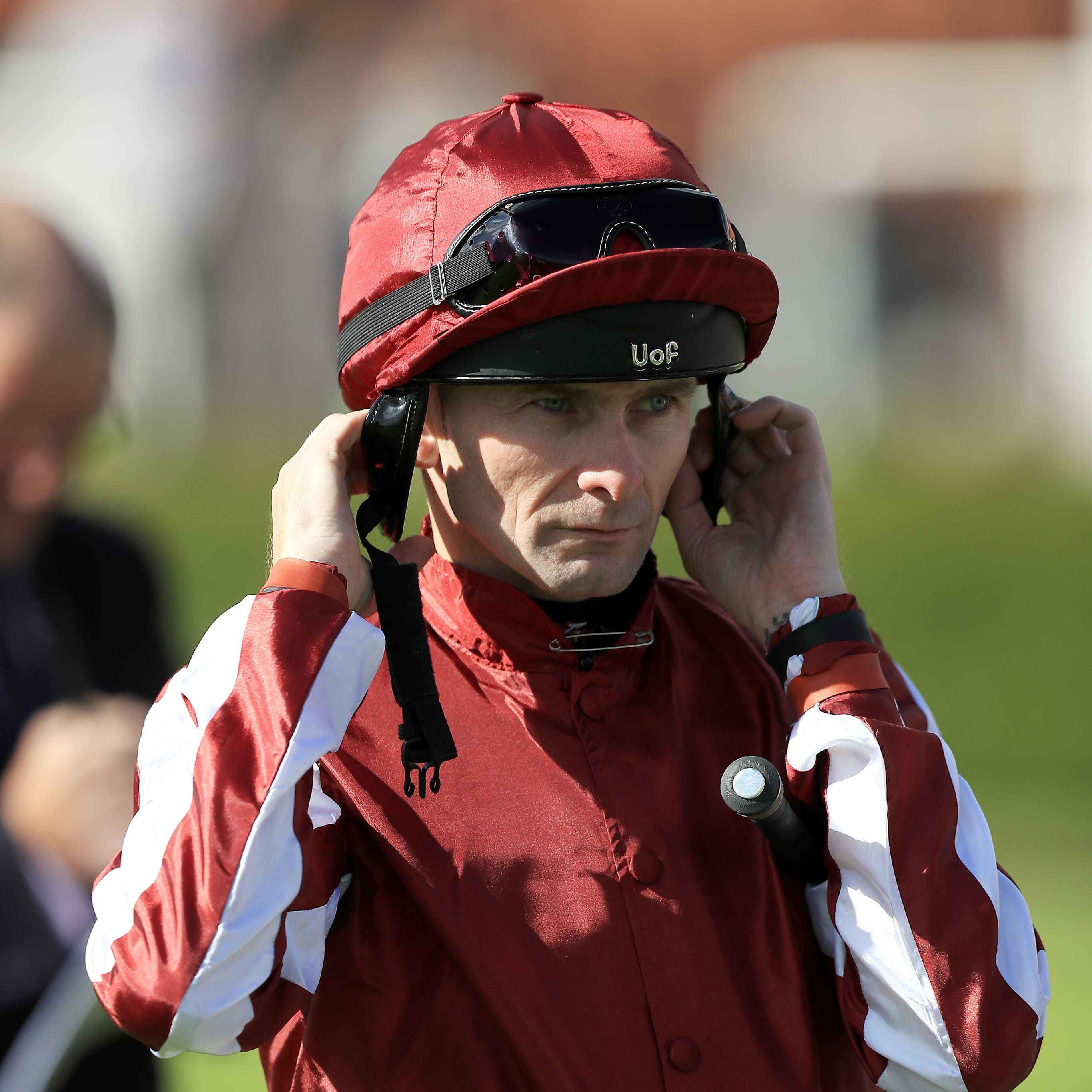 Robert Havlin hopes to be back for the start of the Flat season after breaking his collarbone and rib (