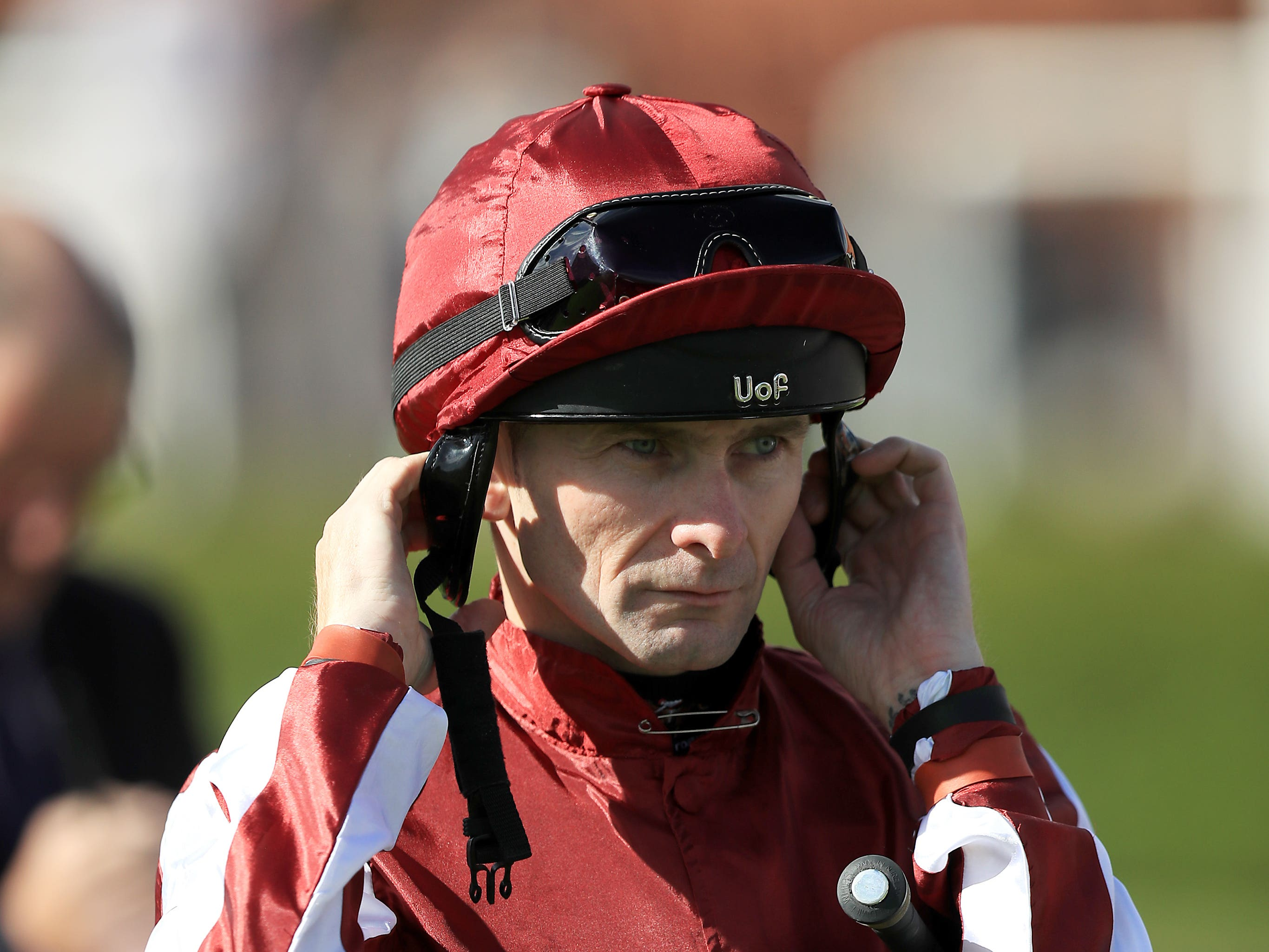 Robert Havlin hopes to be back for the start of the Flat season after breaking his collarbone and rib (Mike Egerton/PA)