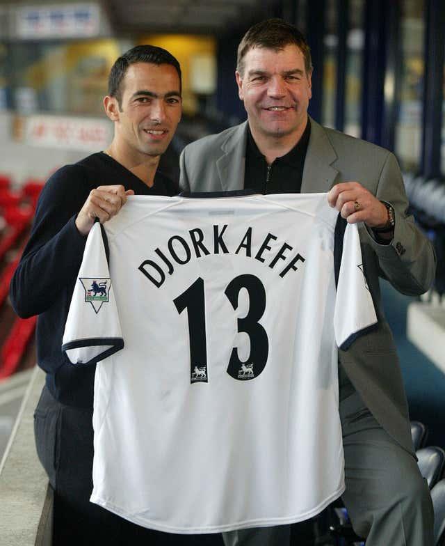 Allardyce brought the likes of World Cup winner Youri Djorkaeff to Bolton